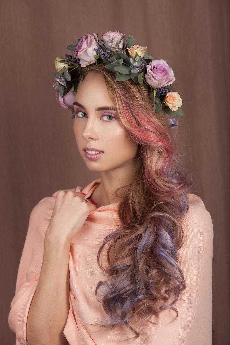 LOreal ParisКрасящее желе для волос Colorista Hair Make Up оттенок Лиловые Волосы 30 мл