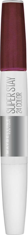 Жидкая губная помада Maybelline New York Super Stay 24H Color, стойкая, тон 340 absolute plumтон, 5 мл