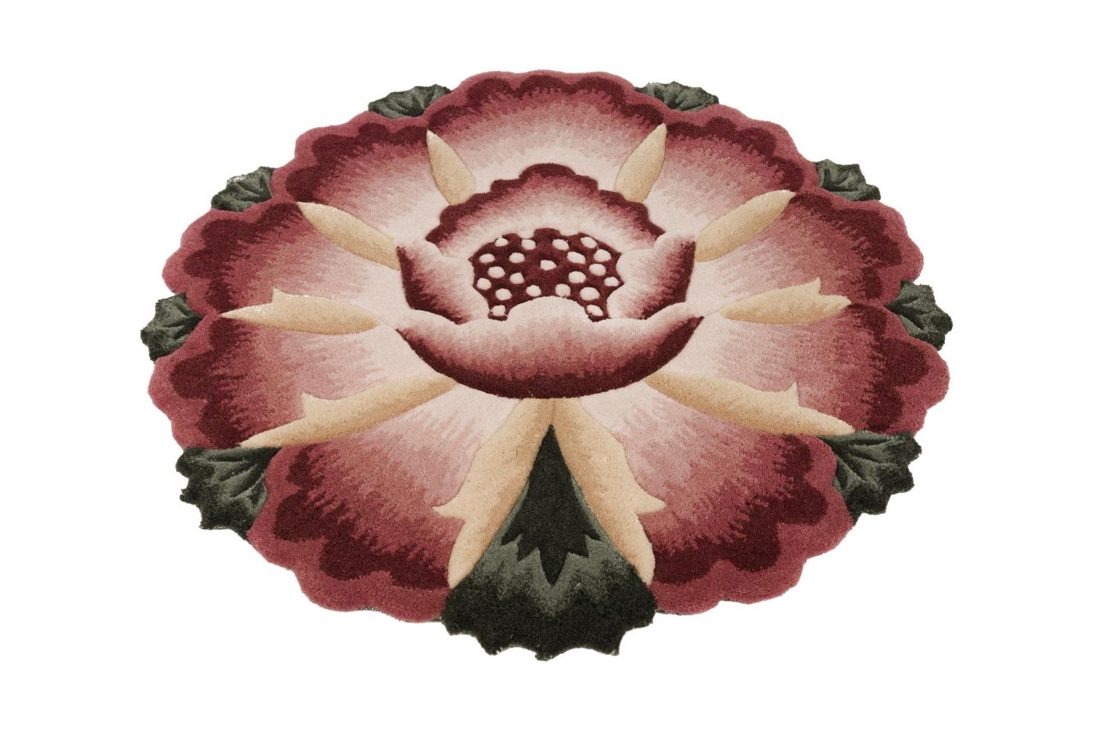 Ковер MADONNA 1,2х1,2 /фигурный, розовый
