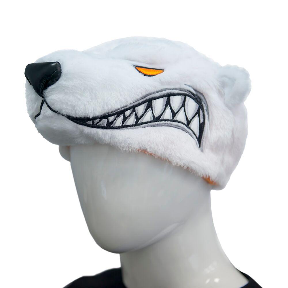 Атрибутика болельщика Virtus.pro Bear Hat VP, FVPHATBEA17PLUSHΥ, белый