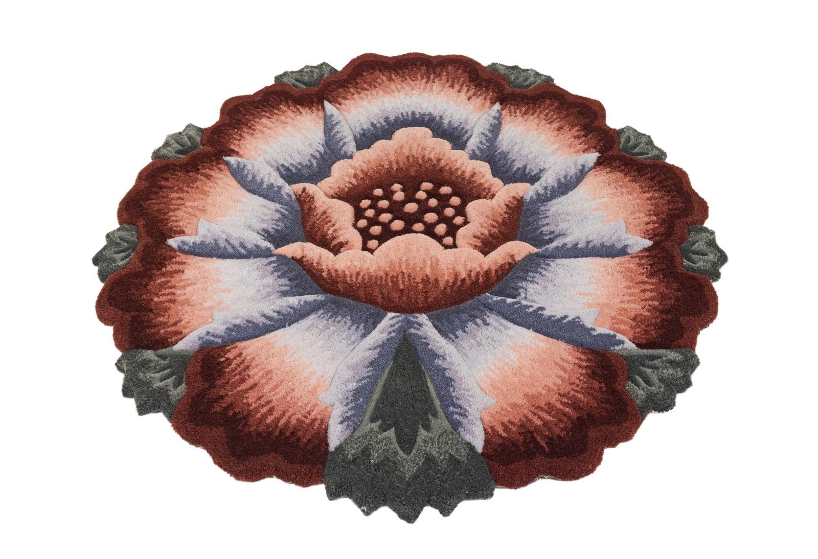 Ковер MADONNA 1,2х1,2м /фигурный, розовый