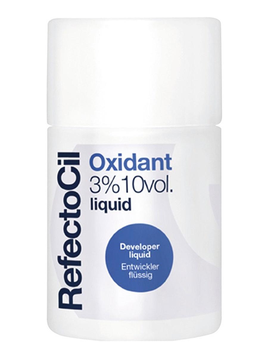 Окислитель RefectoCil жидкий 3% 100мл жидкий 3 оксидант для разведения краски 100 мл refectocil refectocil