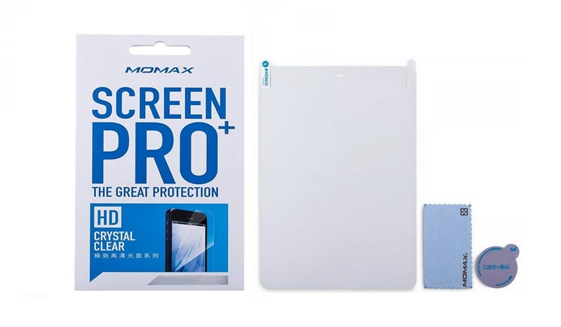 Защитная пленка Momax Screen Pro+ Crystal Clear The Great Protection для Apple Ipad Pro 9.7/Air 1/Air 2, прозрачный