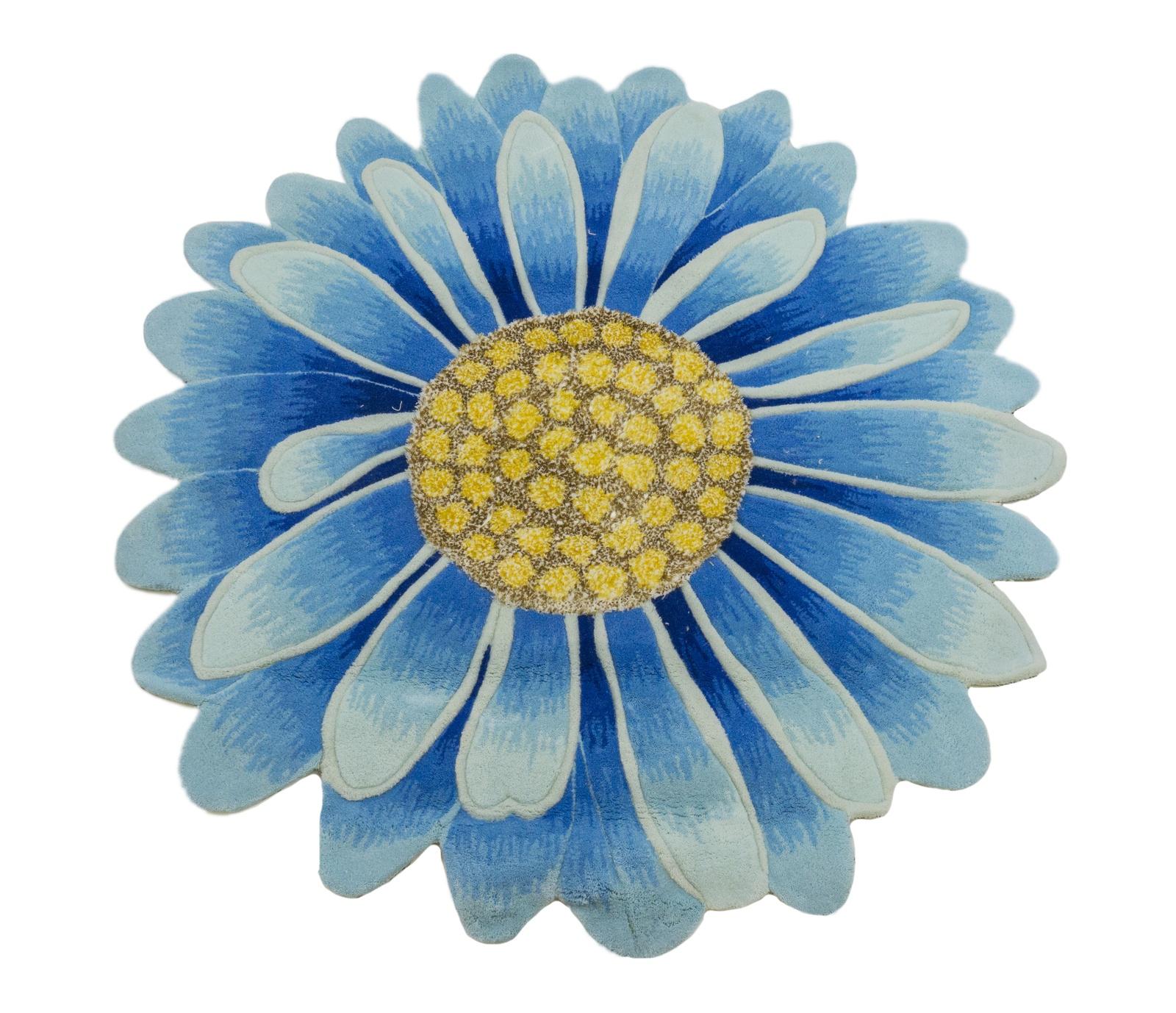 Ковер MADONNA 1,2х1,2 /фигурный, синий