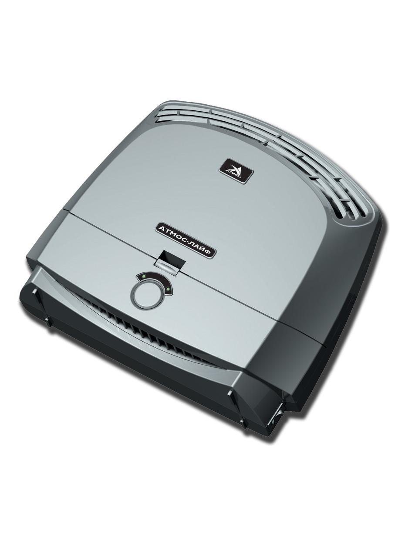 Воздухоочиститель-ионизатор АТМОС 002 ЛАЙФ ОИВ-002, серый ионизатор воздуха для автомобиля янтарь 5т