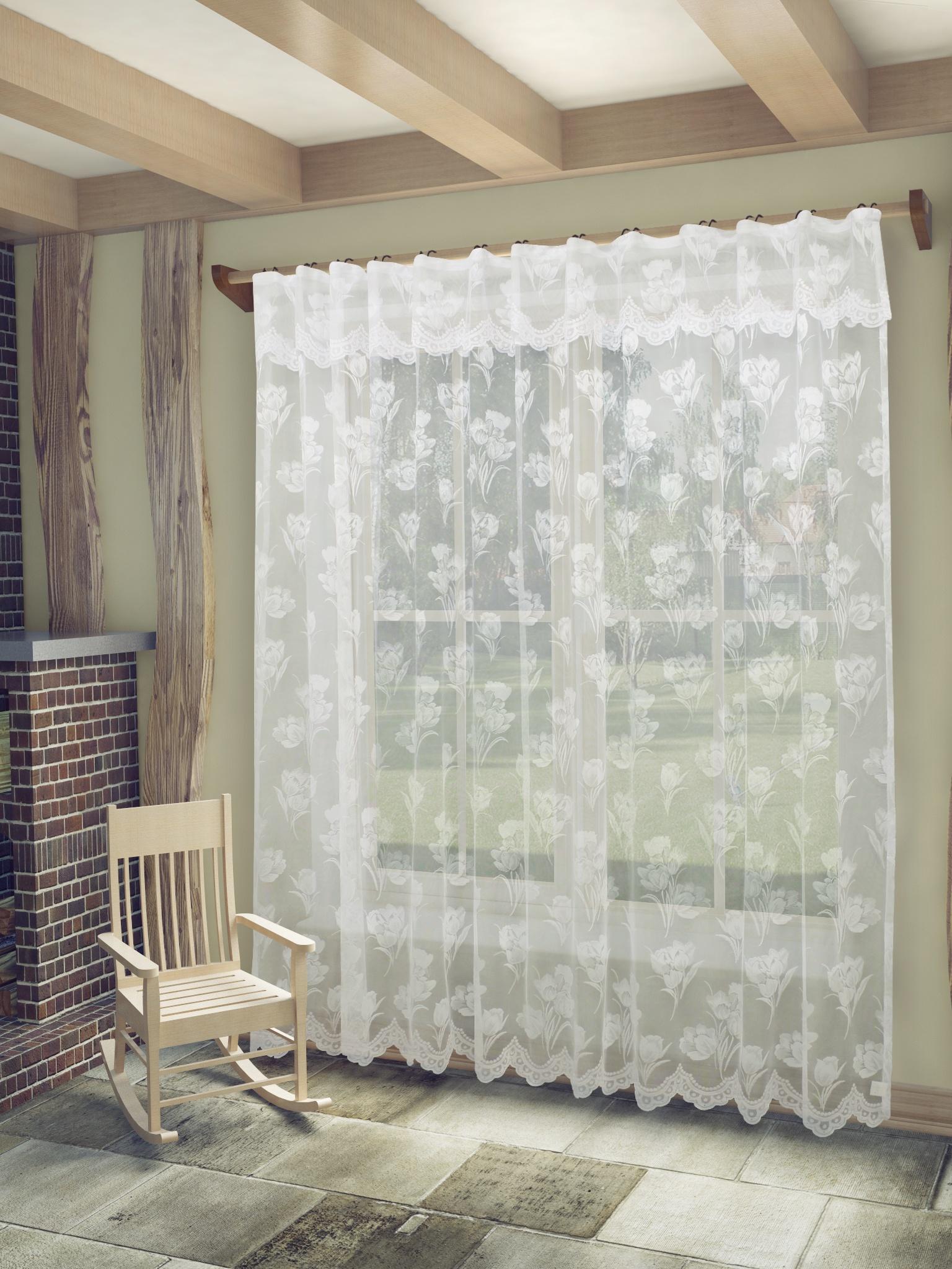 Тюль Sanpa Home Collection Айра, цвет: - белый. Артикул - HP5505/250/1E Айра, белый. (300*250)+ламбрекен. тюль sanpa home collection амая hp18061 120 1e амая белый белый 300 120