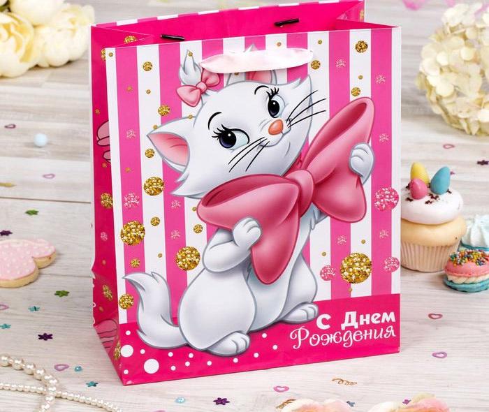 Пакет подарочный Коты аристократы 31 х 40 х 11 см Disney голодранцы и аристократы