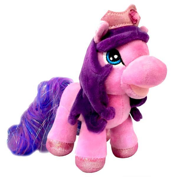 Мягкая игрушка мульти-пульти Пони Сердечко 17см, озвученная.