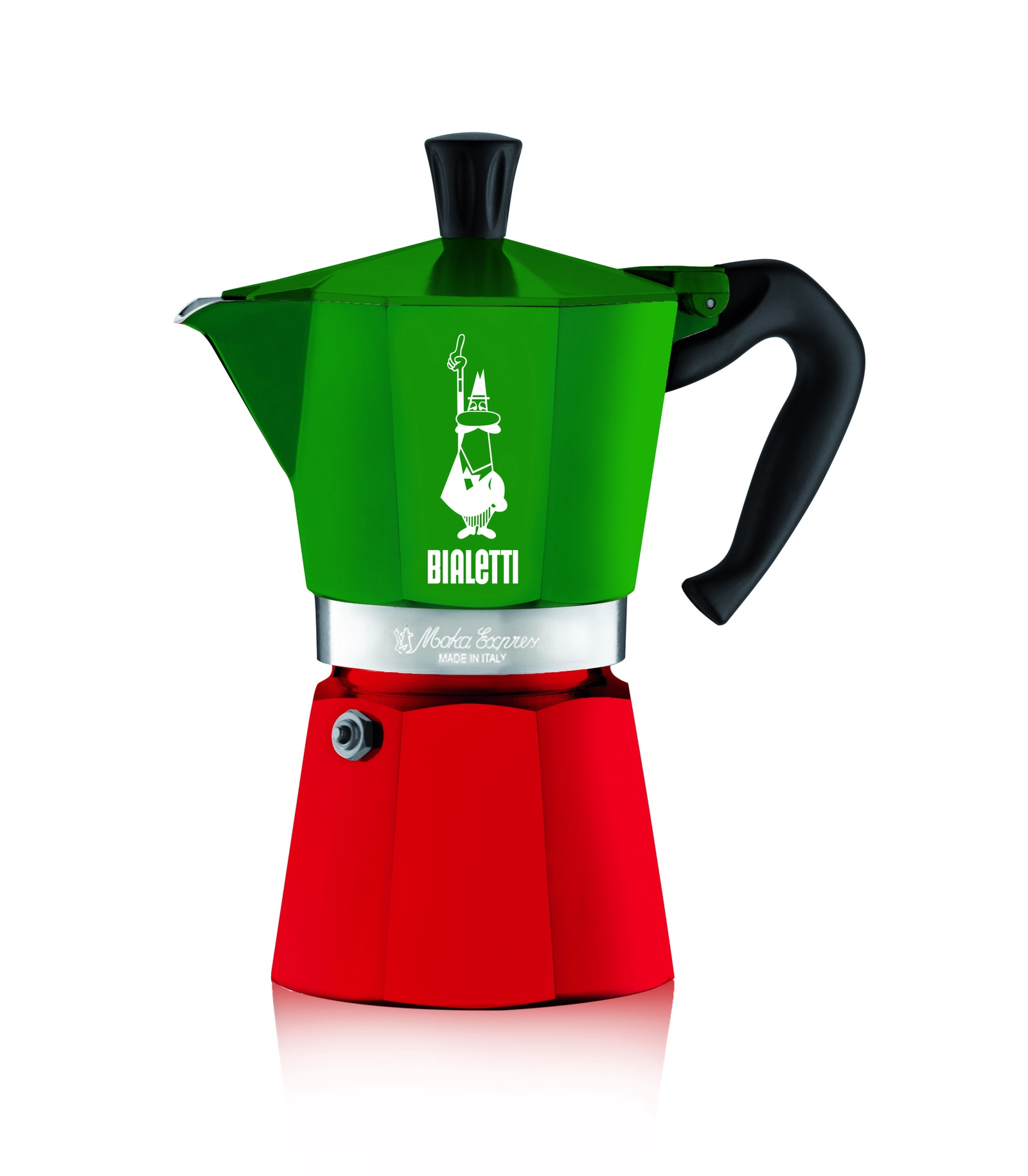 Гейзерная кофеварка Bialetti Moka Express Италия, на 6 чашек, Алюминий кофеварка гейзерная bialetti moka induzione 3 порции сталь 4922