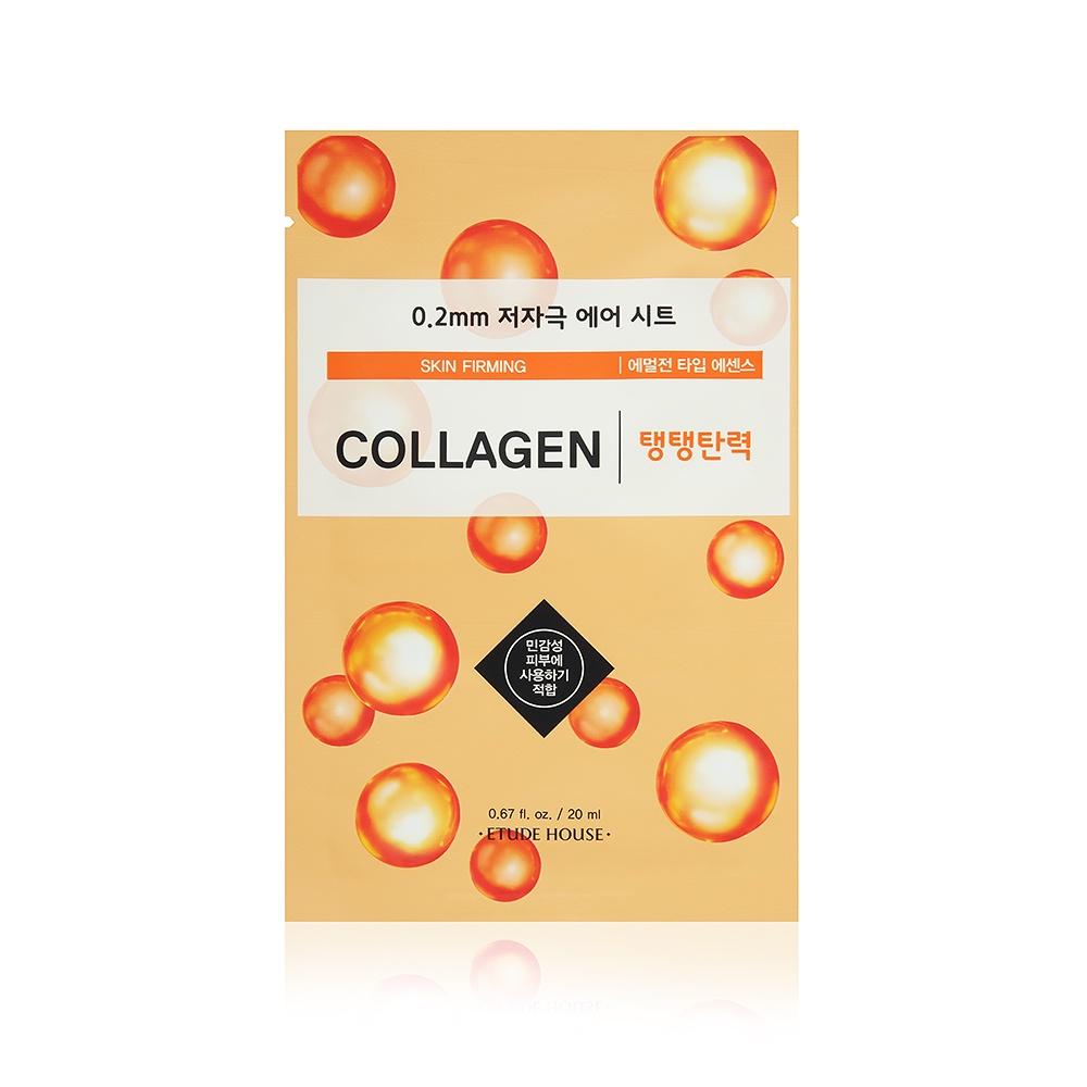 Маска для лица с коллагеном Etude House 0.2 Therapy Air Mask Collagen, 20 мл маска для лица ночная с коллагеном moistfull collagen sleeping pack 100 мл etude house collagen