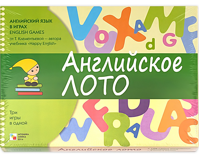 """Развивающая игрушка PROFFI Набор лото «Изучаем английский язык» + чемодан детский """"Совушка"""" PK0946, мультиколор серый, зеленый, розовый, белый"""