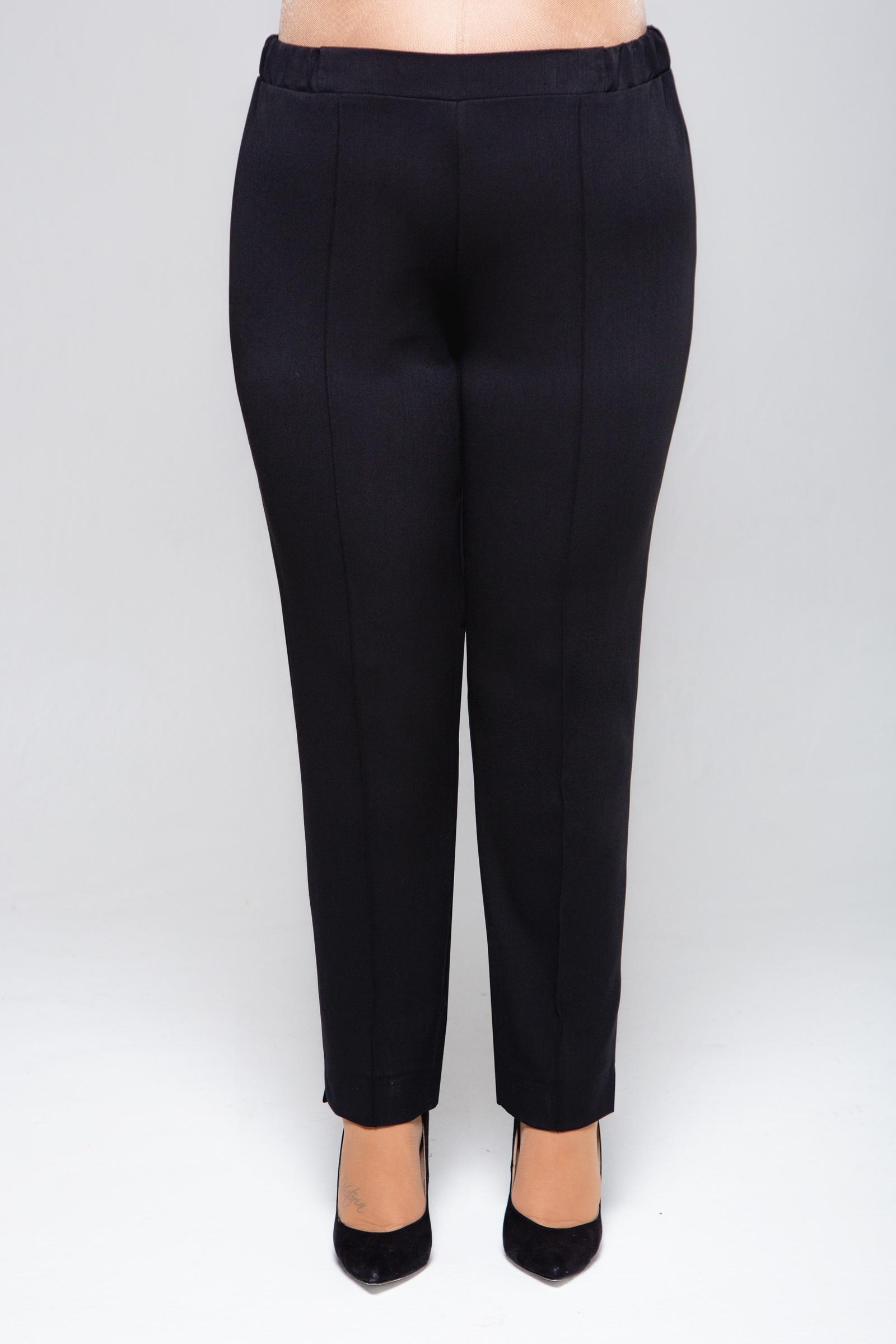 Брюки KR, черный 60-170 размер1206_черный_60Зауженные брюки на резинке с отстрочкой, выполненые из уплотненной ткани