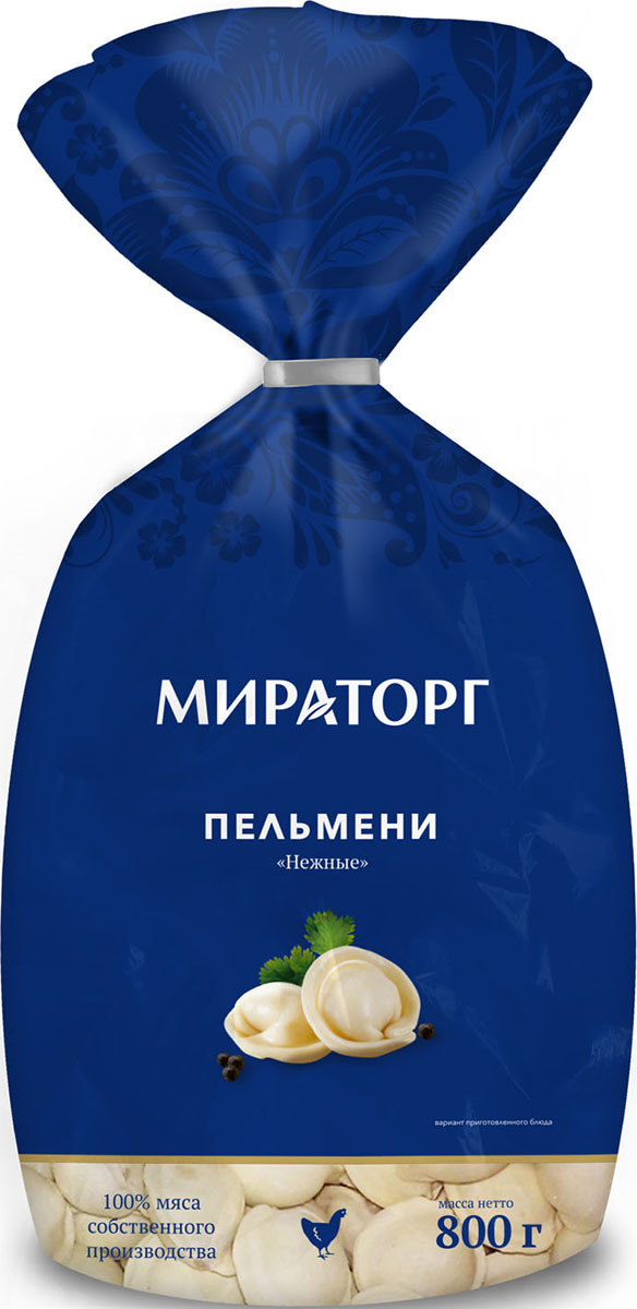 цены Пельмени замороженные Мираторг