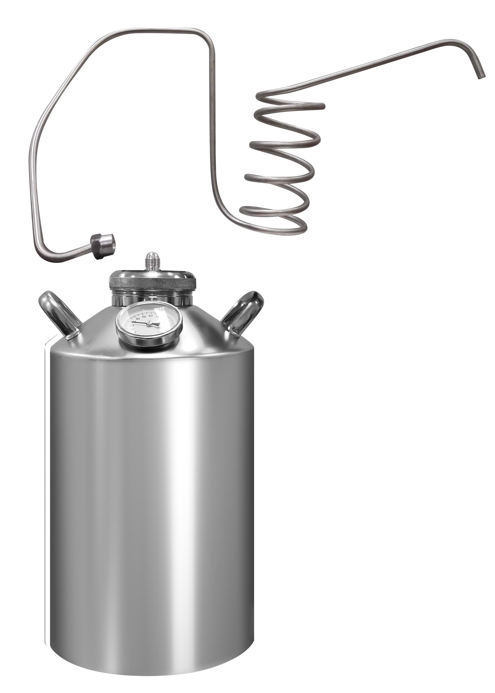 Дистиллятор бытовой Лидер Дачный, 12л, Дачный 12л дистиллятор непроточный добрый жар дачный 30 литров