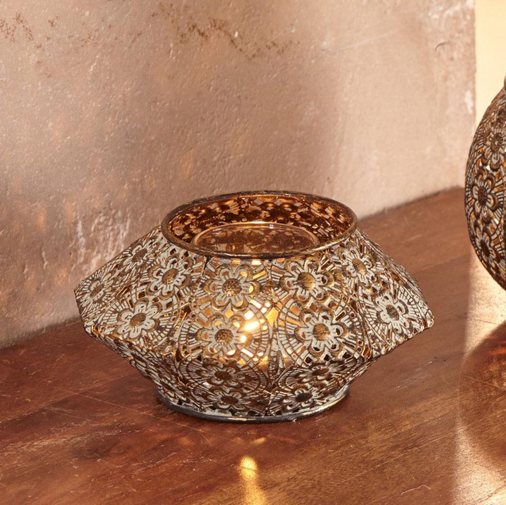 Подсвечник Марракеш подсвечник для чайной свечи 5 5см с инкрустацией в ассорти 5 5 см