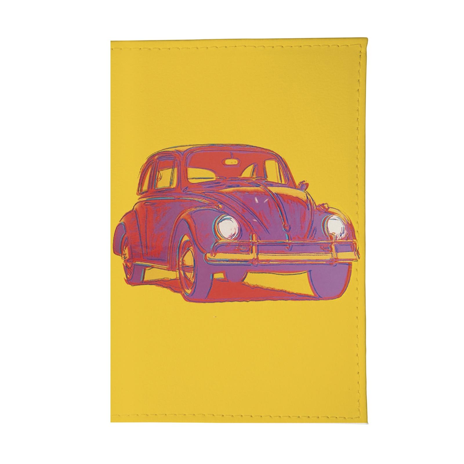 Обложка для паспорта Mitya Veselkov OK039, желтый обложка для паспорта кожаная mitya veselkov признание в любви