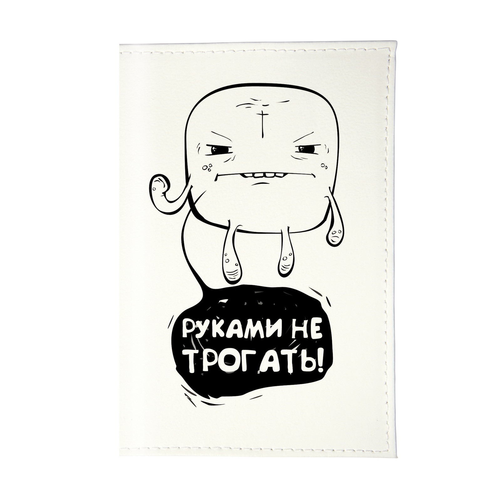 Обложка для паспорта Mitya Veselkov OK095, белый