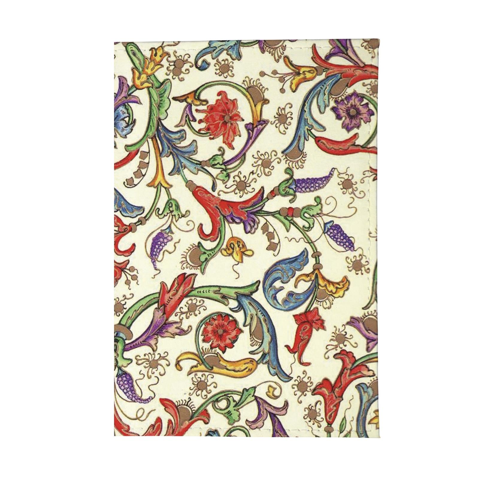 Обложка для паспорта Mitya Veselkov OK116, белый обложка для паспорта mitya veselkov райский сад