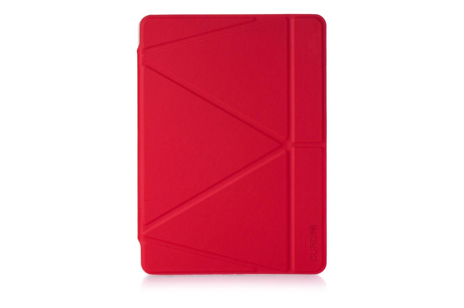 Чехол книжка iPad mini 4 Gurdini Lights Series красный