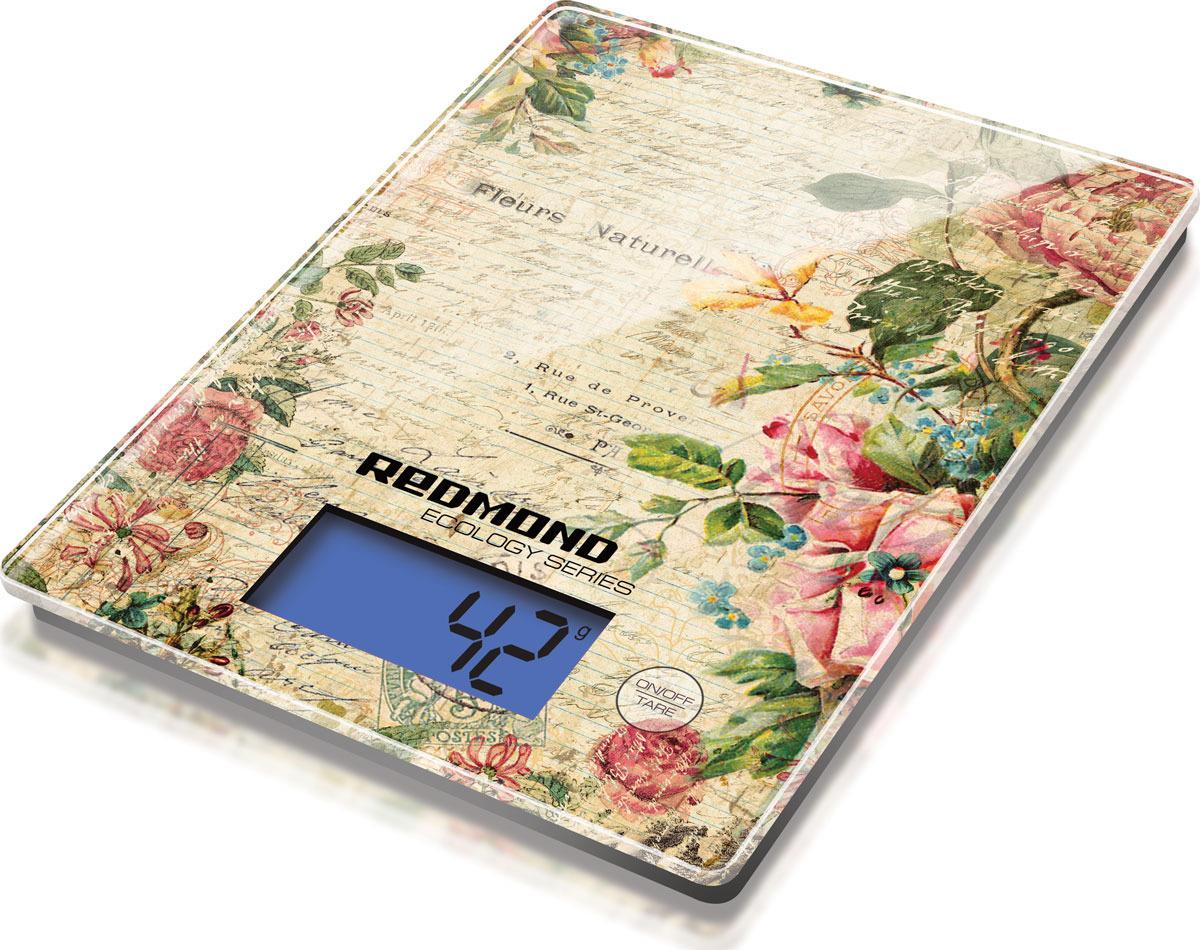 Кухонные весы Redmond RS-736 Цветы