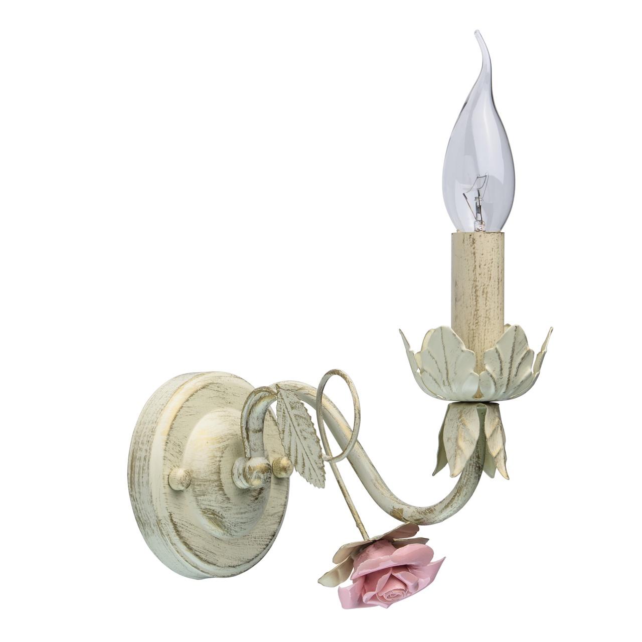 Настенный светильник De City Букет, E14 букет розового молочая