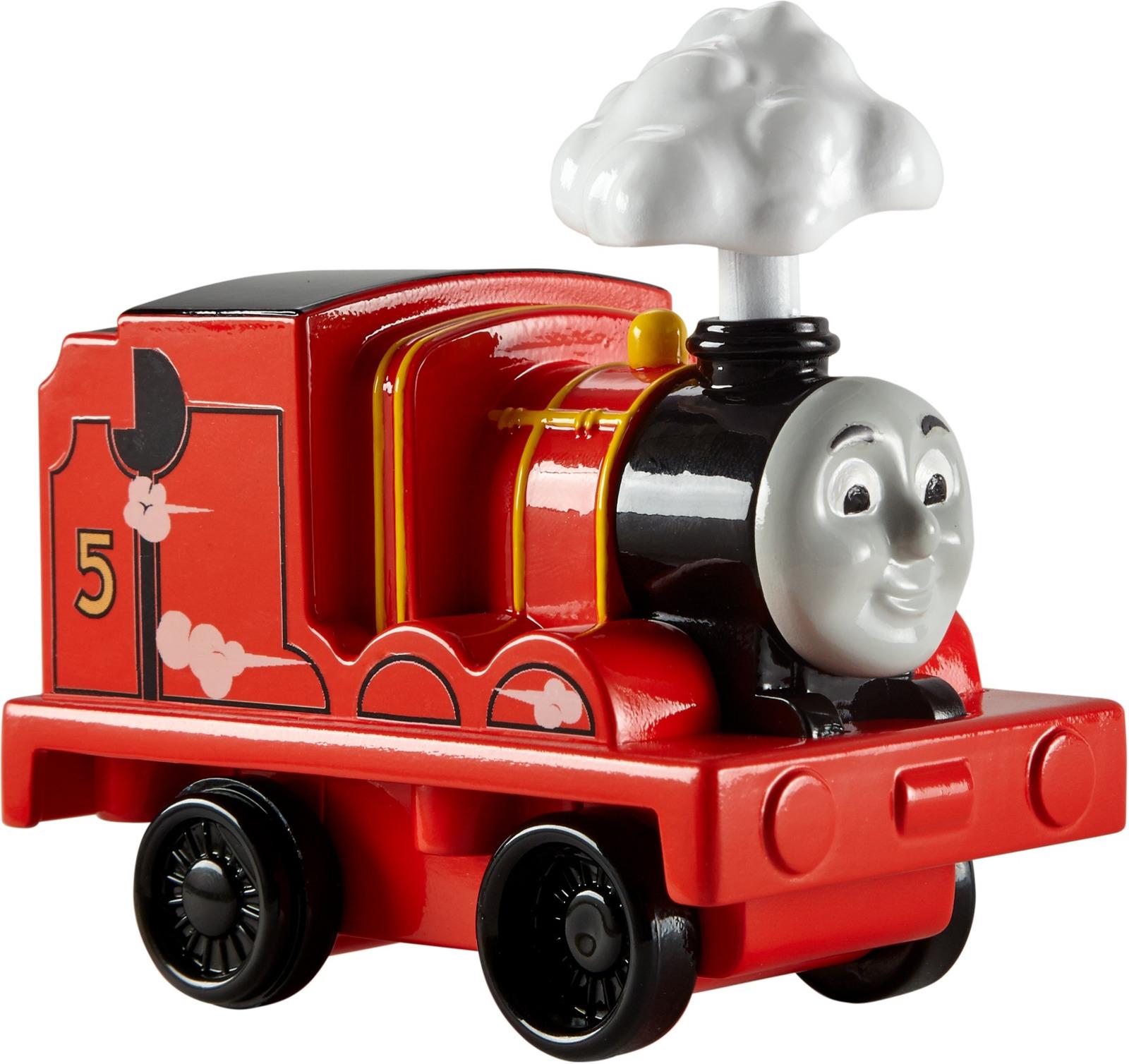 Паровоз Thomas & Friends Мой первый Томас с дымом, DGK99
