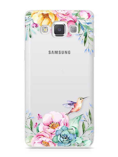 "Чехол для сотового телефона UVOO ""Art kit"" для Samsung Galaxy A3 (2015)"