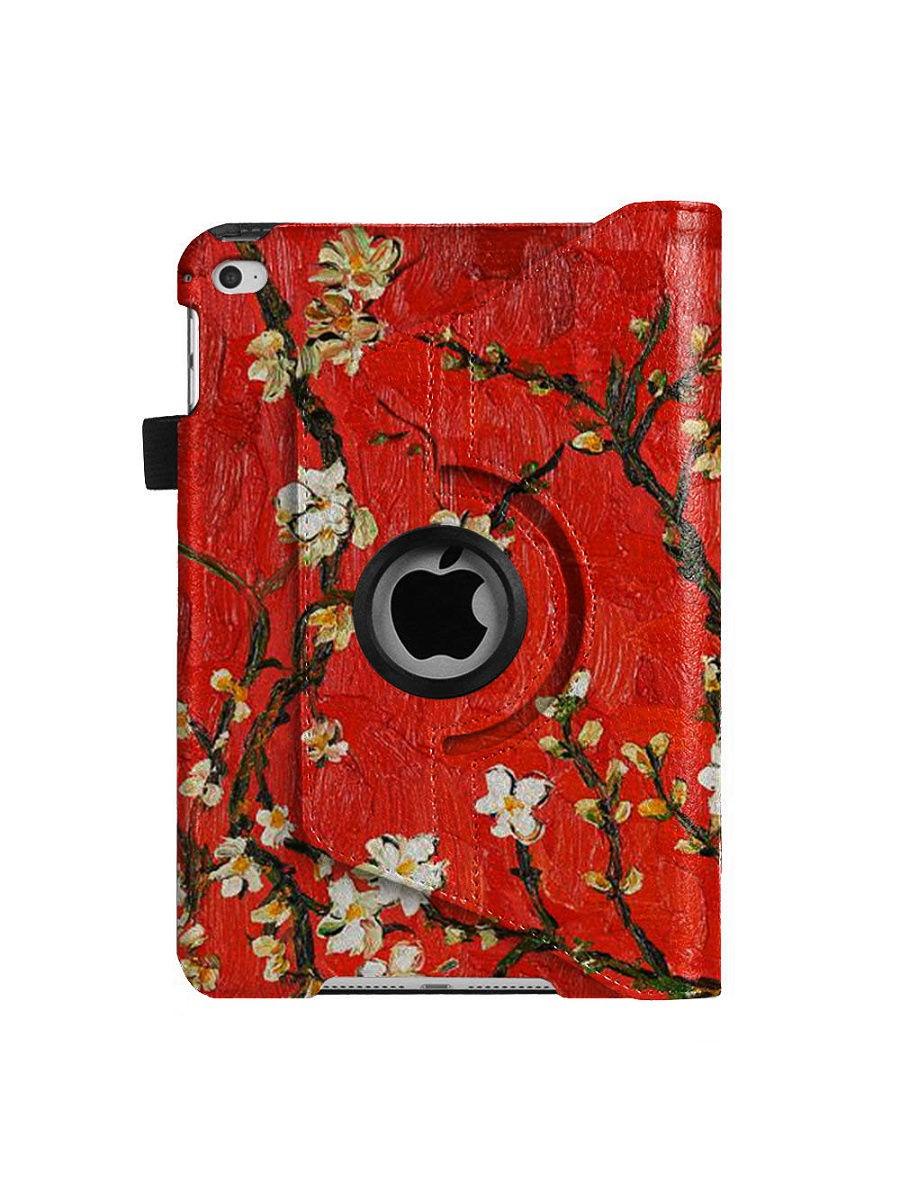 Чехол для планшета With love. Moscow Rotator для Apple iPad Mini 4, красный fashion 360 rotating case for ipad pro 12 9 inch litchi leather stand back cover apple fundas