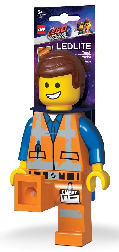 лучшая цена LGL-TO26 Игрушка-минифигура-фонарь LEGO Movie 2 (Лего Фильм 2) - Emmet