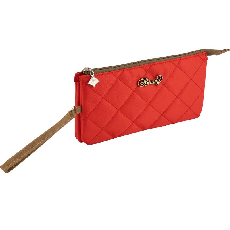 цена на Пенал 694 Beauty красный Kite K17-694