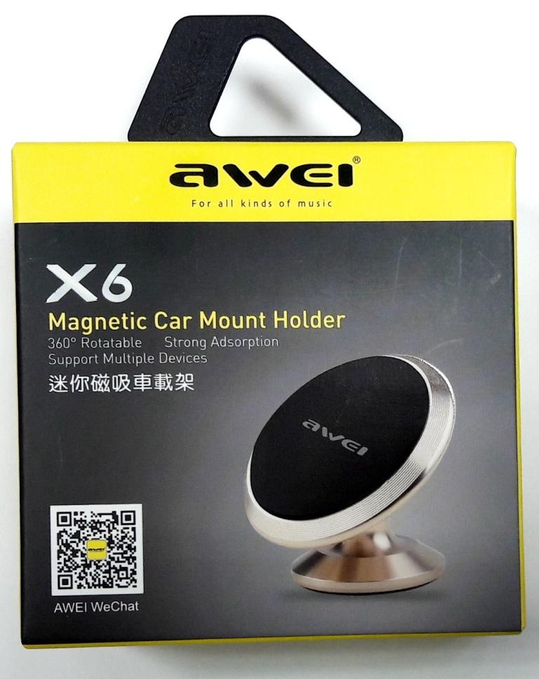 Автомобильный держатель Awei Х6