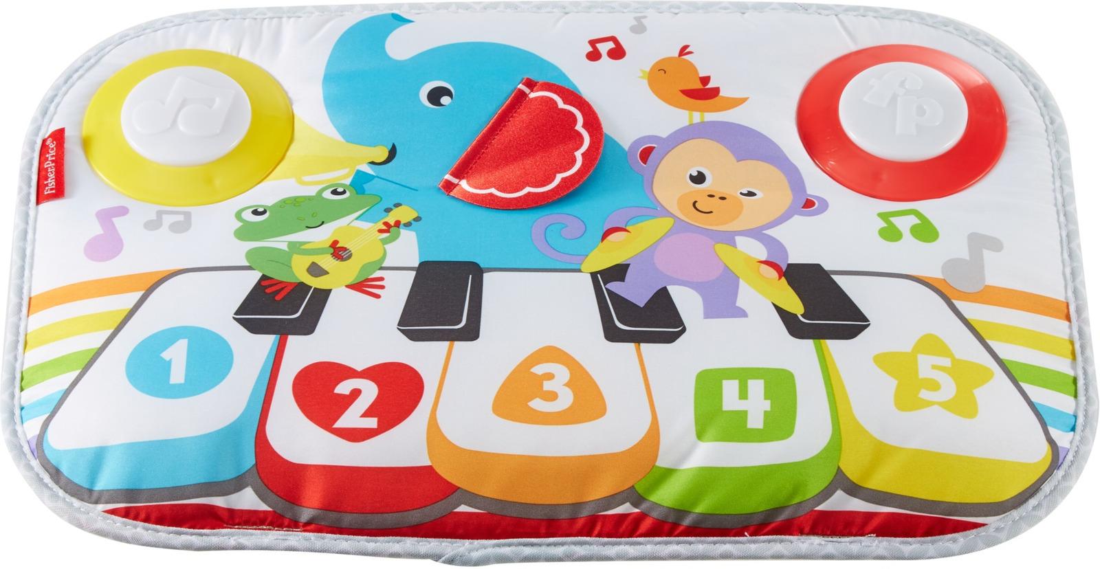 """Развивающая игрушка Fisher-Price """"Музыкальный коврик для кроватки"""", GFJ53"""