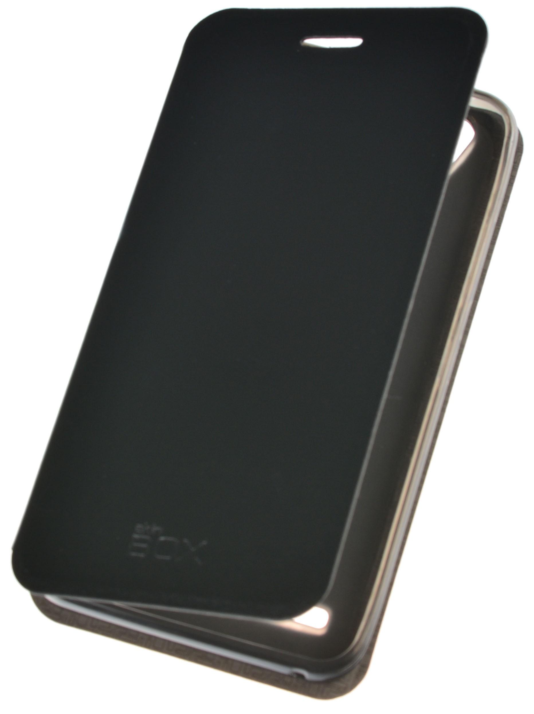 Чехол для сотового телефона skinBOX Lux, 4660041407617, черный