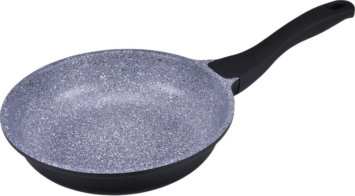 Сковорода SSW BBQ Stone, 315620, черный, с антипригарным покрытием, диаметр 20 см миска ssw диаметр 28 см