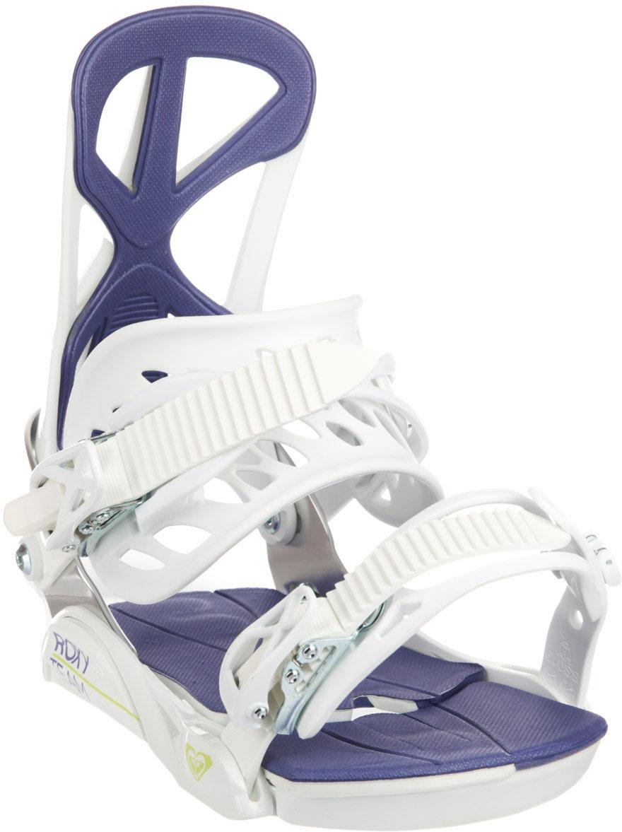 Крепление для сноуборда Roxy TEAM, цвет: белый. Размер M/L