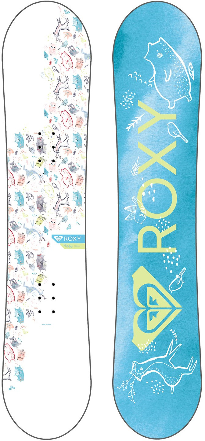 Сноуборд Roxy POPPY PACKAGE. Ростовка 110 см