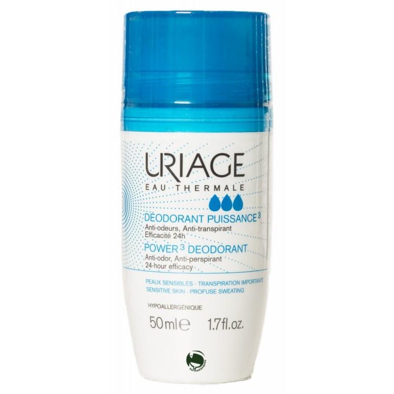 Uriage Дезодорант роликовый тройного действия 50 мл uriage дезодорант отзывы