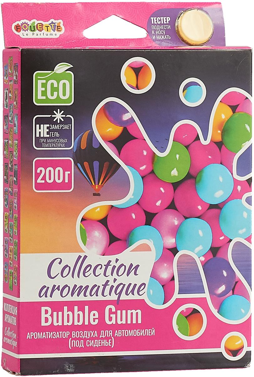 Ароматизатор Fouette Collection Aromatique. Bubble Gum, под сидение, 200 мл ароматизатор воздуха f 15 лакомый нектар под сиденье двойной концентрации 200 мл fouette