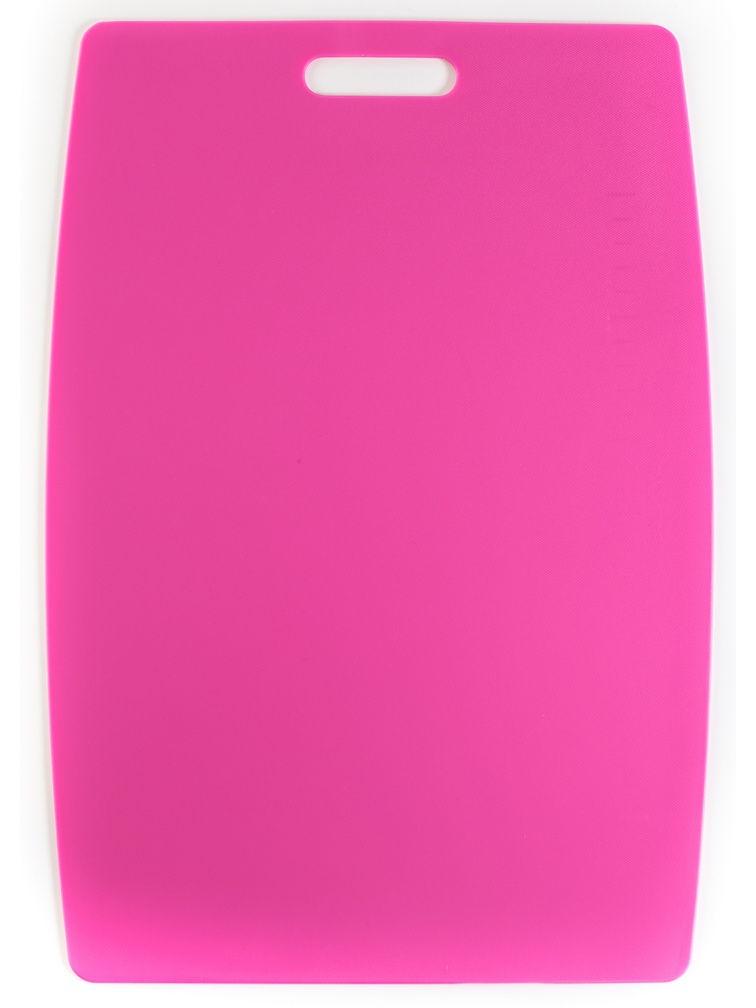 Доска разделочная пластиковая PAMIRE большая Pamire 914285 разделочная доска домашний сундук гибкая цвет красный синий 2 шт