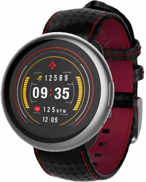 Умные часы MyKronoz ZeRound2HR Premium, серый, черный, красный все цены