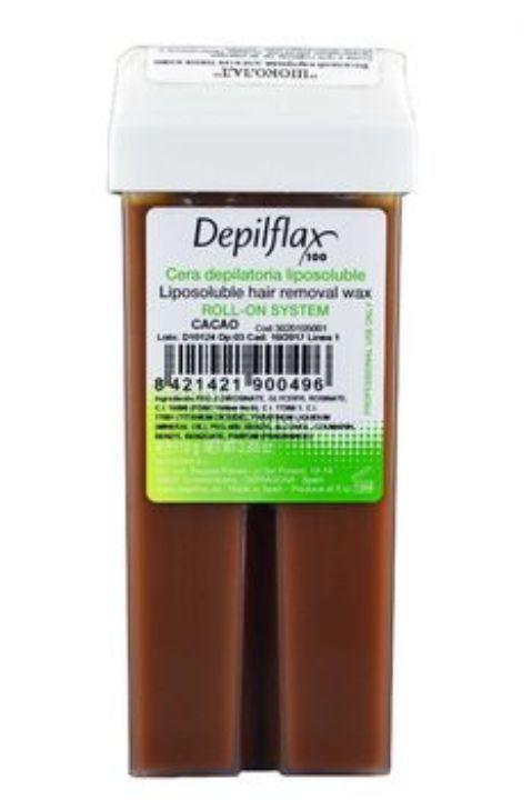 Воск для депиляции Depilflax100 Depilflax100 шоколадный 900861D, плотный, 110 гр, 110 воск для депиляции depilflax100 розовый 900984d к ремовый плотный 110 гр 110