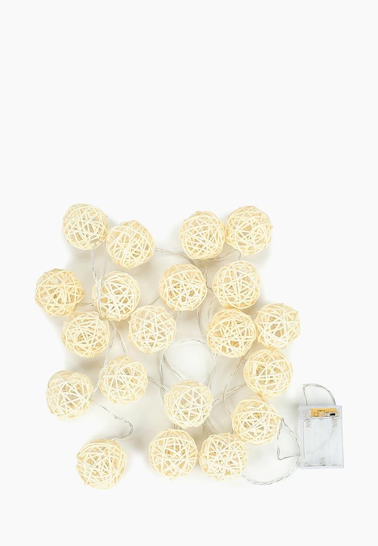 Подвесное украшение Lares & Penates Ротанг белый, 19550, белый
