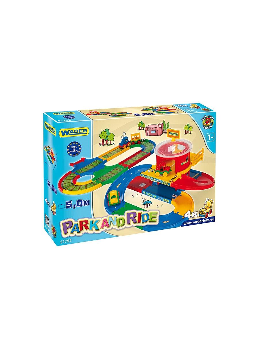"Игровой набор Wader ""Kid Cars"", 184-51792"