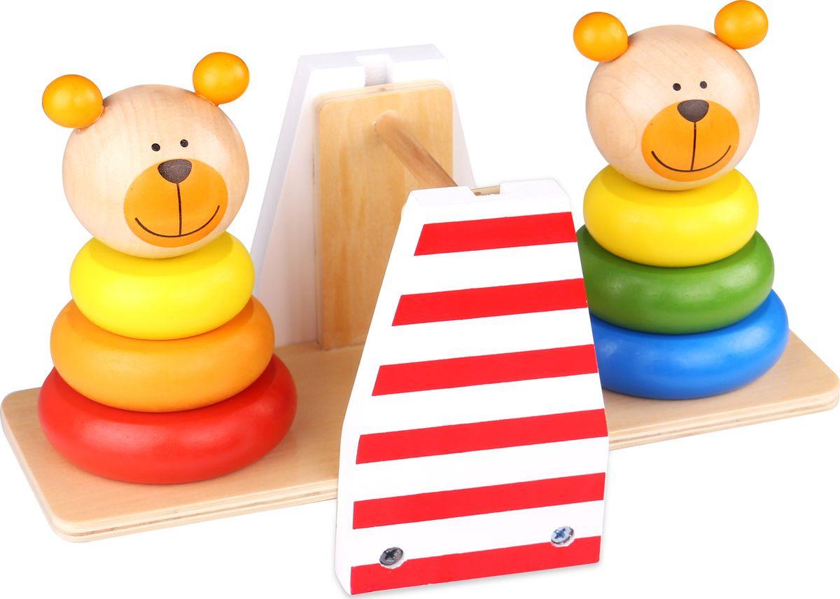 """Пирамидка Tooky Toy """"Медвежата"""", TKB499"""