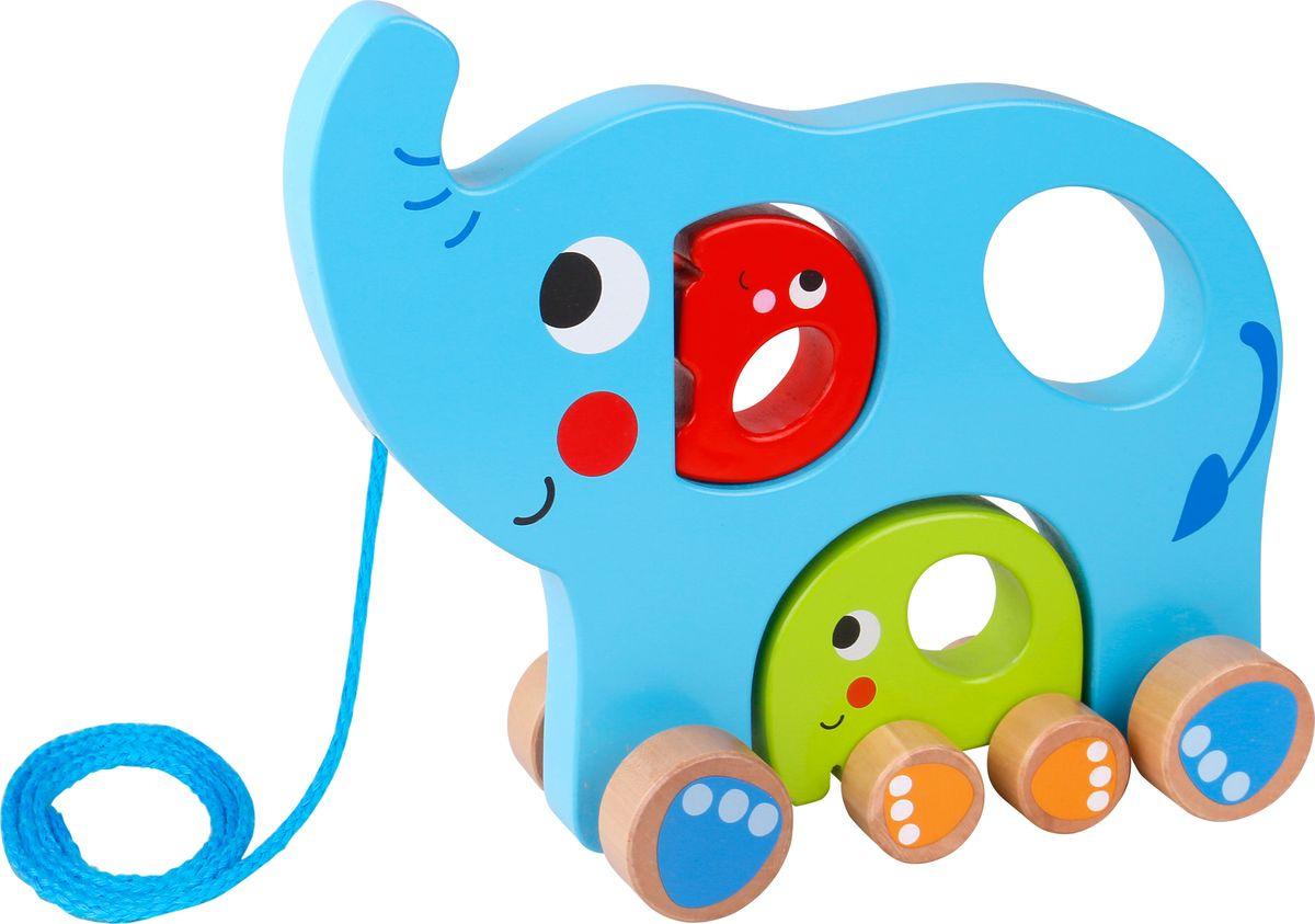 """Игрушка-каталка Tooky Toy """"Слоненок"""", TY321"""
