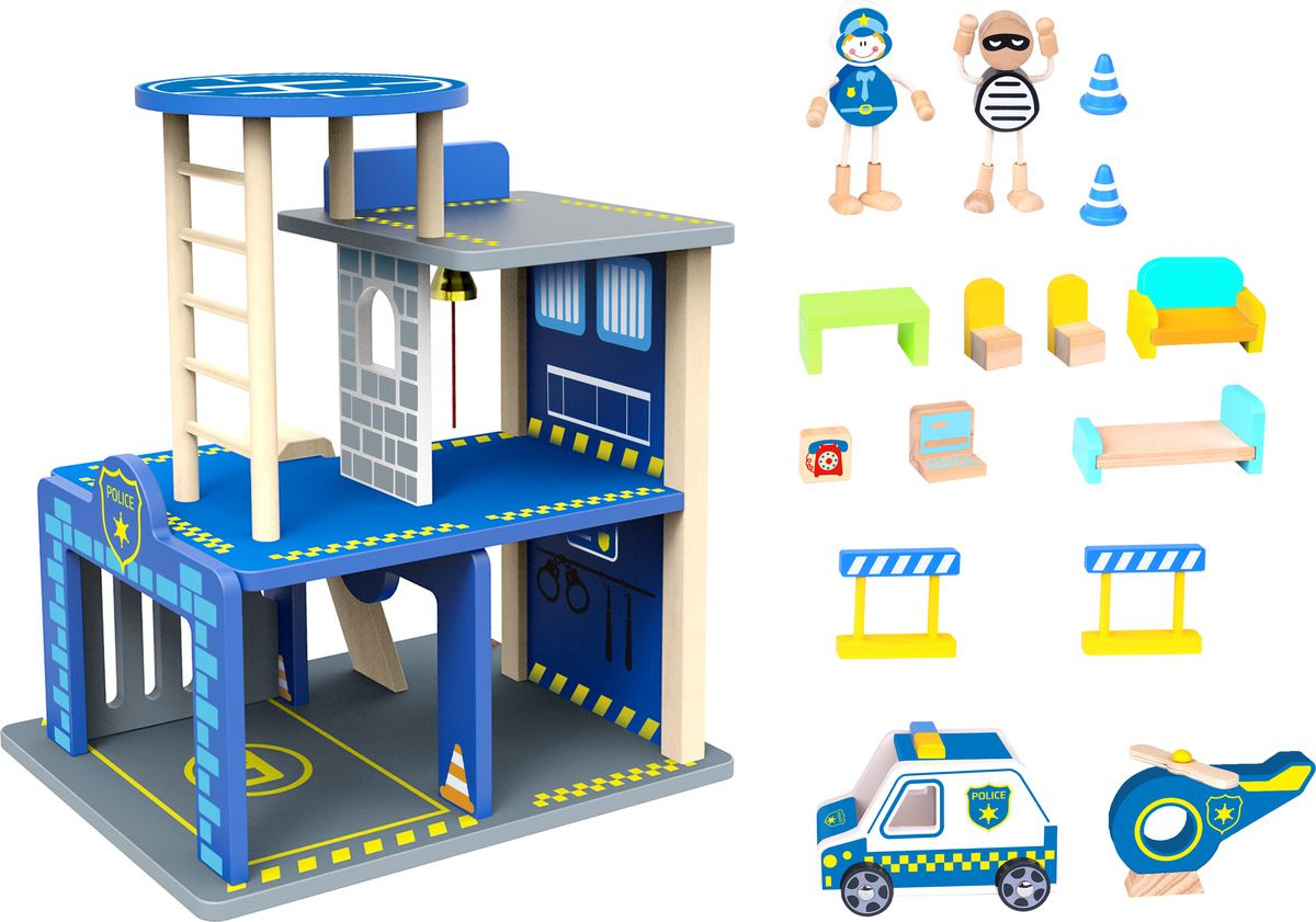 "Сюжетно-ролевые игрушки Tooky Toy ""Полиция"", TKI002"