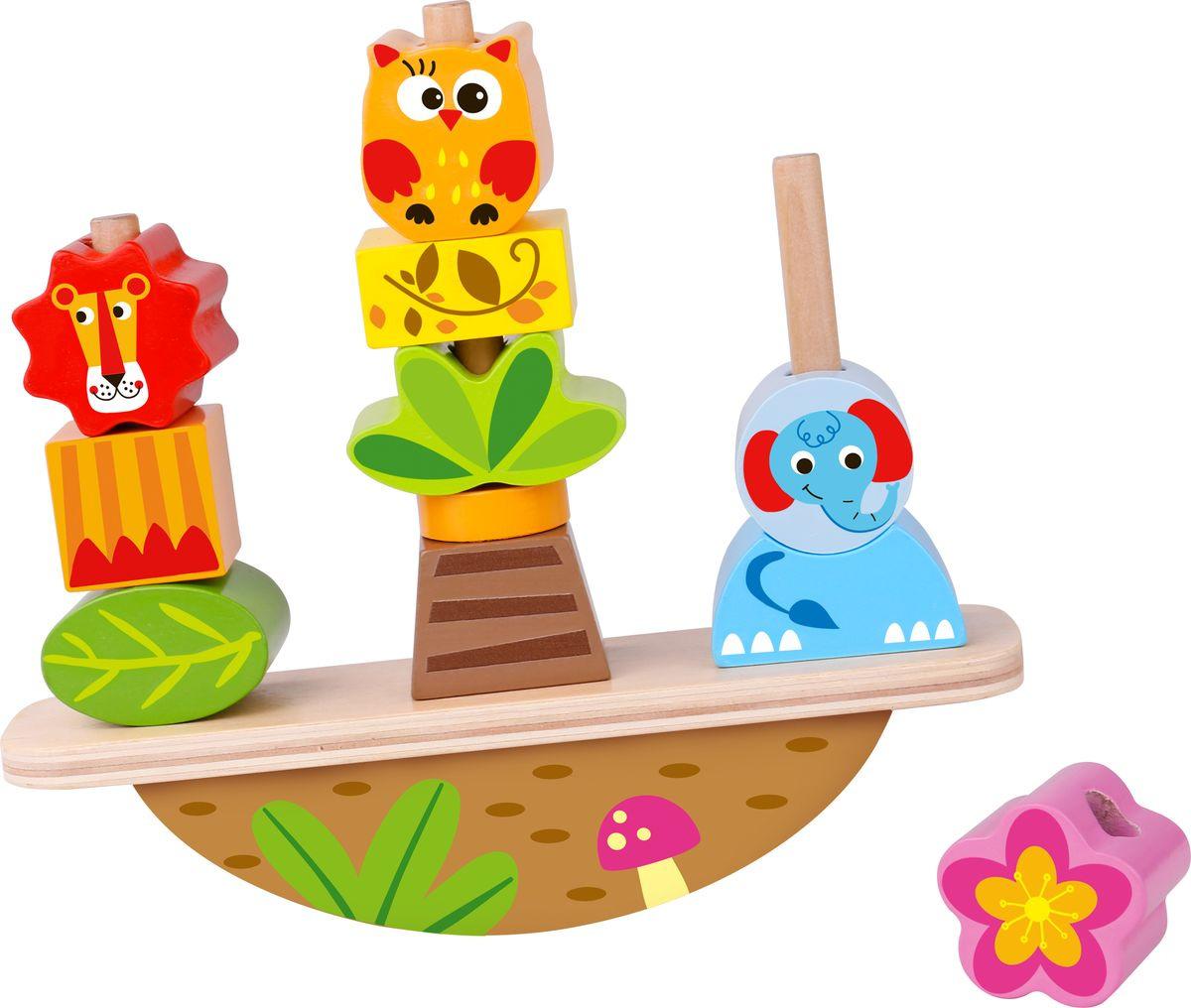 Развивающая игрушка Tooky Toy Баланс Животные TY278