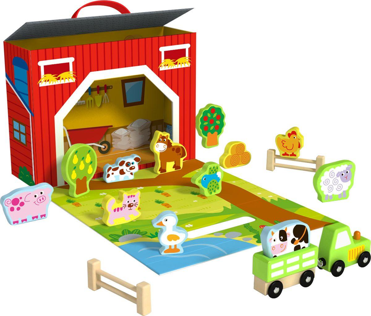 """Развивающая игрушка Tooky Toy """"Ферма"""", TY201"""