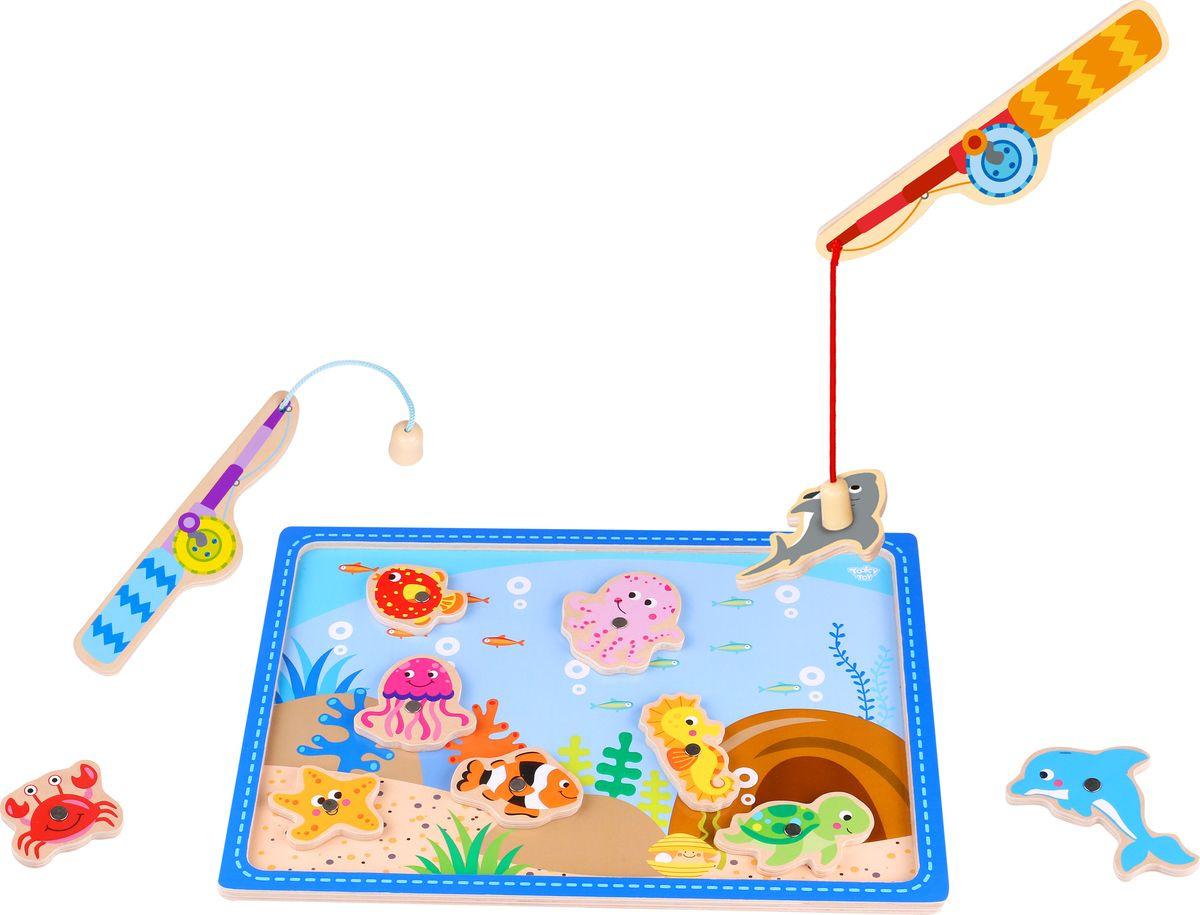 Развивающая игрушка Tooky Toy Рыбалка TKF040