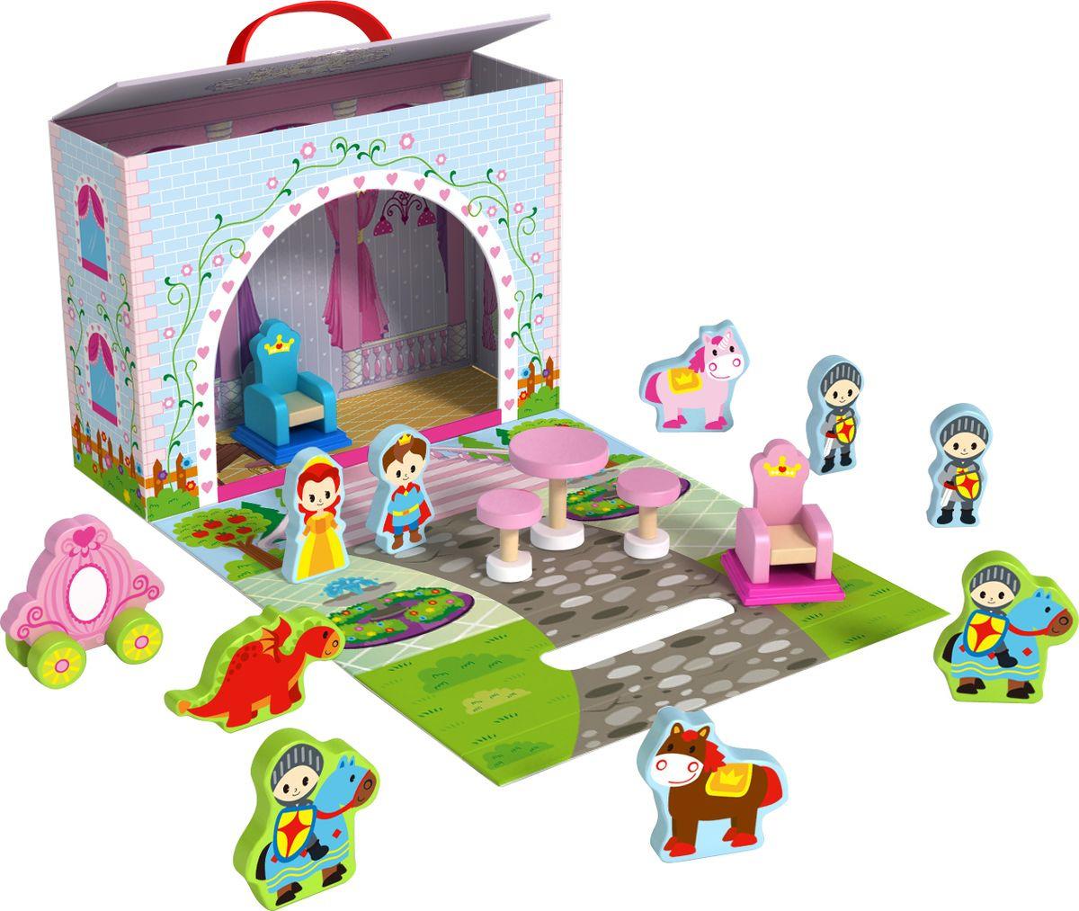 """Развивающая игрушка Tooky Toy """"Замок принцессы"""", TY202"""